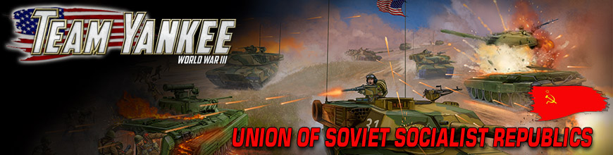 Shop for Battlefront: Team Yankee Soviet Miniatures Models and Game Supplies at Dark Horse Hobbies - Today!