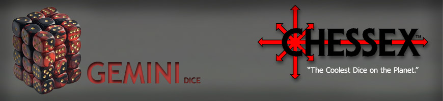 Shop for Gaming Dice by Chessex Manufacturing at Dark Horse Hobbies - Today!