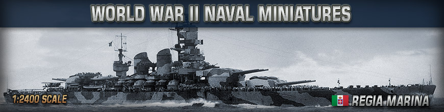 Shop Dark Horse Hobbies for 1:2400 Scale World War II (Italian) Regia Marina Naval Wargame Products - Today!