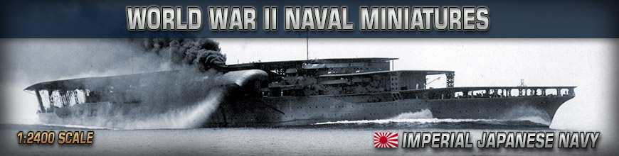 Shop Dark Horse Hobbies for 1:2400 Scale World War II Imperial Japanese Naval Wargame Products - Today!