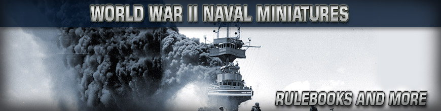 Shop Dark Horse Hobbies for 1:2400 Scale World War II Naval Wargame Rules and Gaming Products - Today!