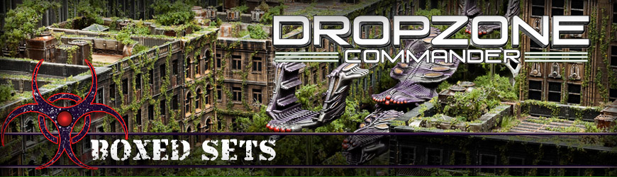 Shop Dark Horse Hobbies for all of your Dropzone Commander Scourge Boxed Sets and Save - Today!
