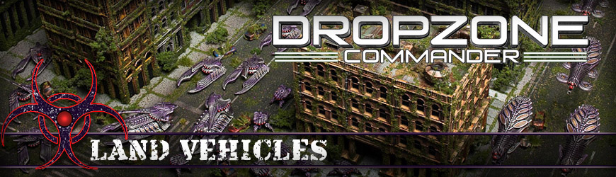 Shop Dark Horse Hobbies for all of your Dropzone Commander Scourge Land Vehicle Miniatures and Save - Today!