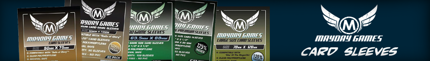 Shop Dark Horse Hobbies for your CCG Card Sleeves by Mayday Games... Today!