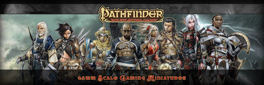 Shop for your Pathfinder RPG 28mm Scale Gaming Miniatures at Dark Horse Hobbies... Today!