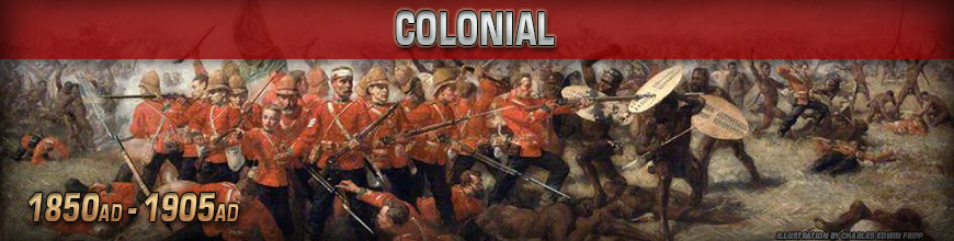 Shop for 10mm Colonial Wars (1850-1905) Gaming Miniatures at Dark Horse Hobbies - Today!