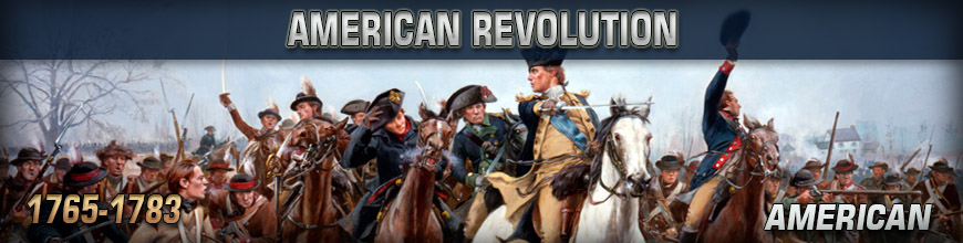 Shop for 10mm American Revolution Continental American Wargames Miniatures at Dark Horse Hobbies - Today!