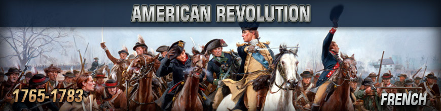 Shop for 10mm American Revolution French Historical Wargame Miniatures at Dark Horse Hobbies - Today!