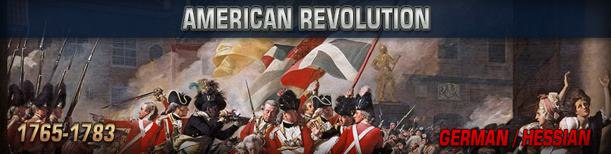 Shop for 10mm American Revolution German / Hessian Historical Wargame Miniatures at Dark Horse Hobbies - Today!
