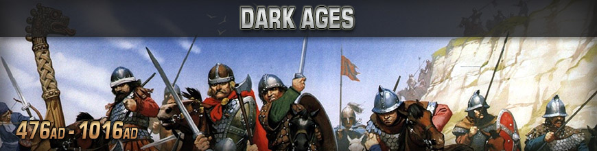 Shop Dark Horse Hobbies for 10mm Dark Ages Wargaming Miniatures - Today!