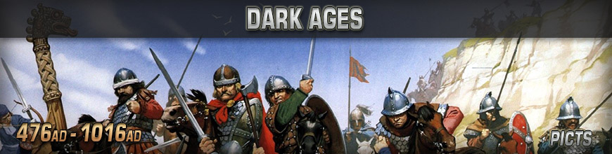 Shop Dark Horse Hobbies for 10mm Dark Ages - Picts Wargaming Miniatures - Today!