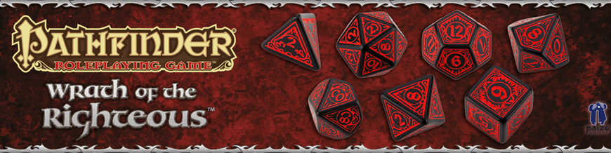 Shop Dark Horse Hobbies for Pathfinder Dice Sets by Q-Workshop - Today!