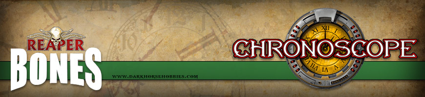 Shop Dark Horse Hobbies for Chronoscope Multi-Genre 28mm scale Skirmish Tabletop Wargame Miniatures, Scenery and More!