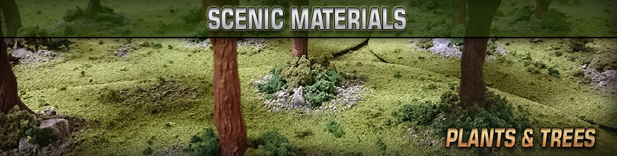 Shop Dark Horse Hobbies for Tabletop Wargame Scale Model Trees, Plants and other Scenery... Today!