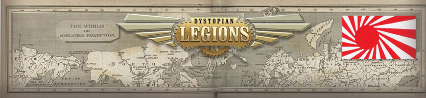 Shop for your Dystopian Legions Empire of the Blazing Sun Game Miniatures at Dark Horse Hobbies - Today!