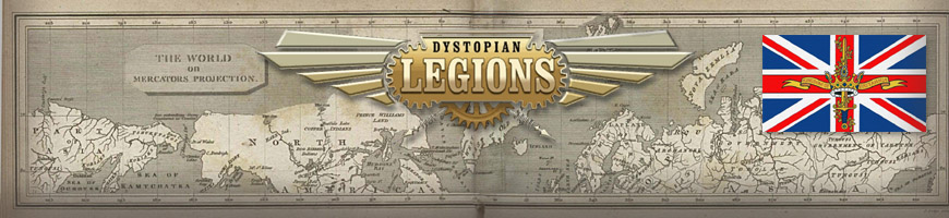 Shop for your Dystopian Legions Kingdom of Britannia Game Miniatures at Dark Horse Hobbies - Today!