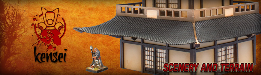 Shop for 28mm Scale Shogunate Japan Tabletop Gaming Buildings, Scenery and Terrain at Dark Horse Hobbies... Today!