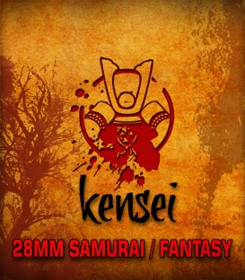 Kensei - The 28mm Samurai / Fantasy Miniatures Game.... available at Dark Horse Hobbies - Now!