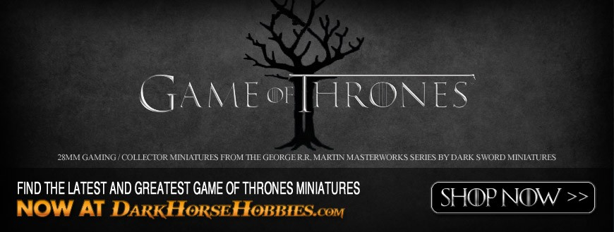 Game of Thrones: 28mm Scale Fantasy Miniatures