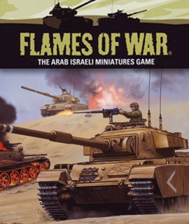 Flames of War: Fate of A Nation - Arab-Isralie Wars.... available at Dark Horse Hobbies - Now!