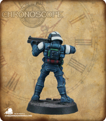 Chronoscope (NOVA Corp): NOVA Corporate Security Guard (painted by Michael Genet)