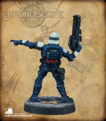 Chronoscope (NOVA Corp): NOVA Corporate Security Sergeant (painted by Erin Warfield)