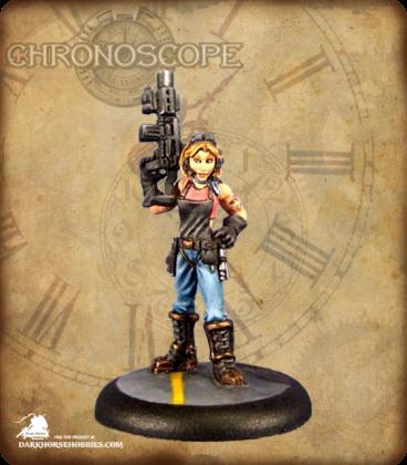 Chronoscope (Chronotech): Rosie Johnson, Chronotechnician (painted by John Bonnot)