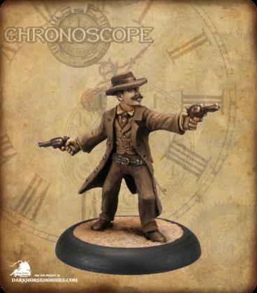 Chronoscope (Wild West): Doc Holiday (painted by Derek Schubert)
