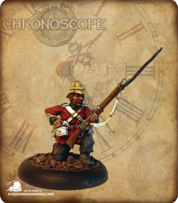 Chronoscope: British Colonial Riflemen Set (painted by Heisler)