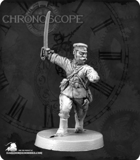 Chronoscope: Saburo Aritomo, Meiji Japanese Officer