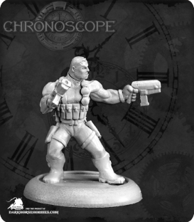 Chronoscope (Super Heroes): Frank Russo, Merc Hero