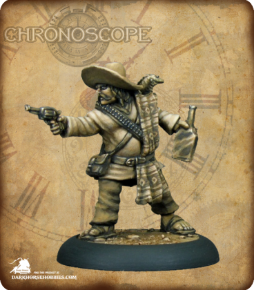 Chronoscope (Wild West): Lobo Sanchez, Bandito (painted by Derek Schubert)