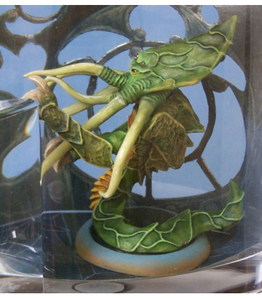 Chronoscope (Alien Worlds): Bathalian Exarch (painted by Anne Cooper)