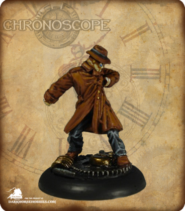Chronoscope (Noir): Invisible Man (painted by David M. Miles)