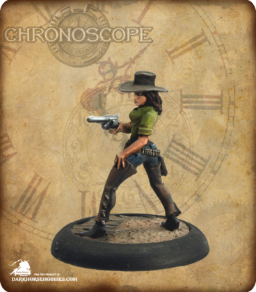 Chronoscope (Wild West): Diamond Sue Dawson, Cowgirl (painted by Nic Daniel)