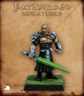 Pathfinder Miniatures: Technic League Captain (painted by Martin Jones)