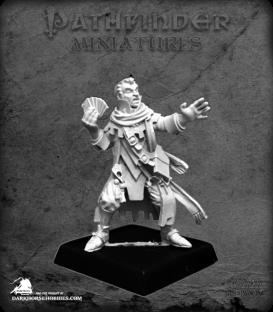 Pathfinder Miniatures: Erasmus, Iconic Medium