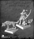 Pathfinder Miniatures: Adowyn & Leryn (Iconic Hunter & Wolf)