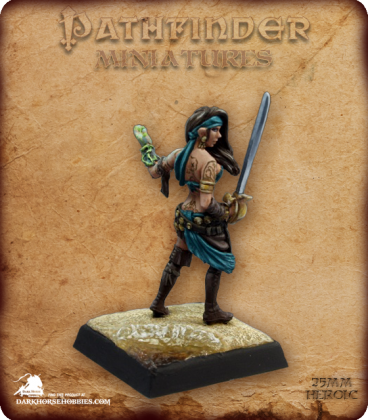 Pathfinder Miniatures: Isabella Locke (painted by Martin Jones)