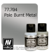 Vallejo Metal Color: Pale Burnt Metal (32ml)