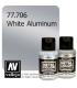 Vallejo Metal Color: White Aluminum (32ml)