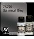 Vallejo Metal Color: Gunmetal Grey (32ml)