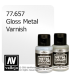 Vallejo Metal Color: Gloss Metal Varnish (32ml)