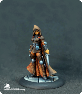 Reaper Silver Anniversary - Tara the Silent (painted by Rhonda Bender)