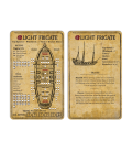 Blood & Plunder: Frigate (Data Card)