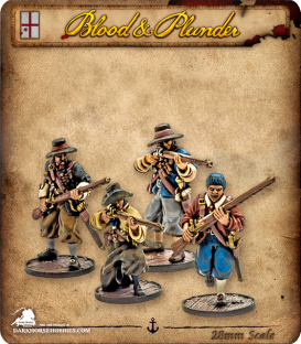 Blood & Plunder: England - Freebooters Unit