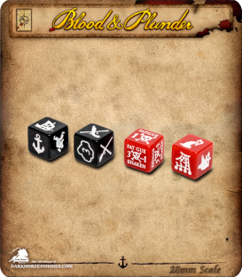 Blood & Plunder: Marker Dice Set