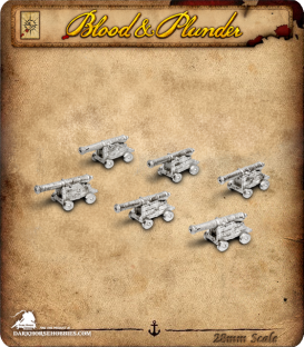 Blood & Plunder: Light Cannons