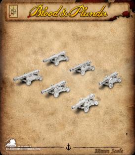 Blood & Plunder: Medium Cannons