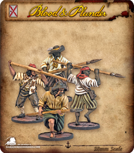 Blood & Plunder: Spain - Lanceros Unit